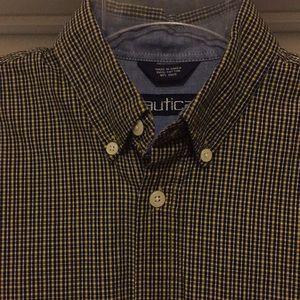 Nautica Mini Plaid Shirt